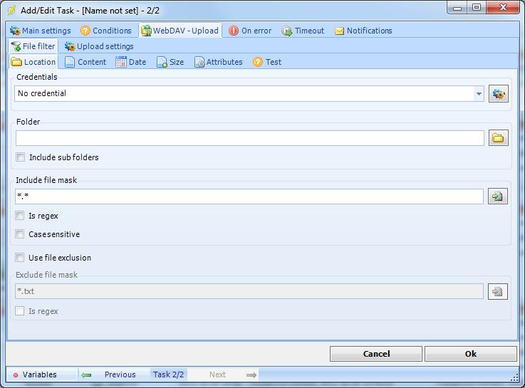 Webdav resume upload
