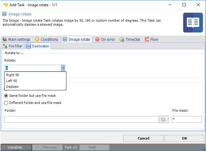 Task Image - Rotate